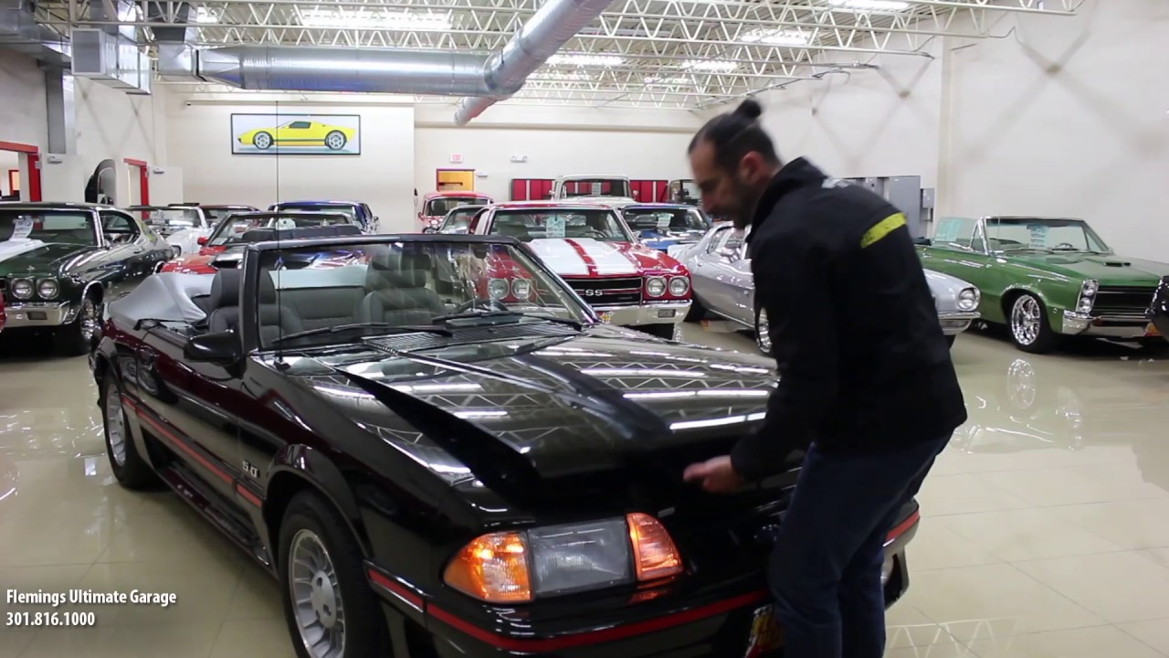 87 mustang gt fox boy 22k miles for sale with test drive driving sounds and walk through video