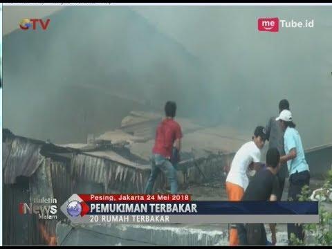 20 Rumah Terbakar di Kedoya Utara, 10 Damkar Dikerahkan - BIM 24/05