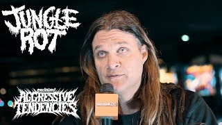 """Dave Matrise on """"The Unstoppable"""" tank, war lyrics and Jungle Rot's name 