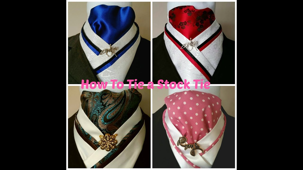How to Tie a Stock Tie Courtesy of Doc's Designs. - YouTube