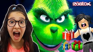 Roblox-SAVING Christmas with my mom (The Grinch Obby) | Sophie Games