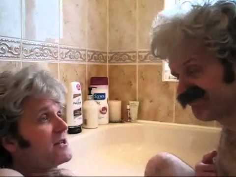 Pete Best and Allan Williams in The Bath