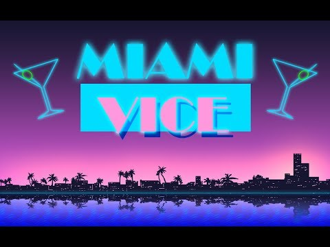 [HD] FSX - Miami Vice - LatinVFR Miami - New Scenery - Miami Vice Theme - 2600K @ 4.7ghz