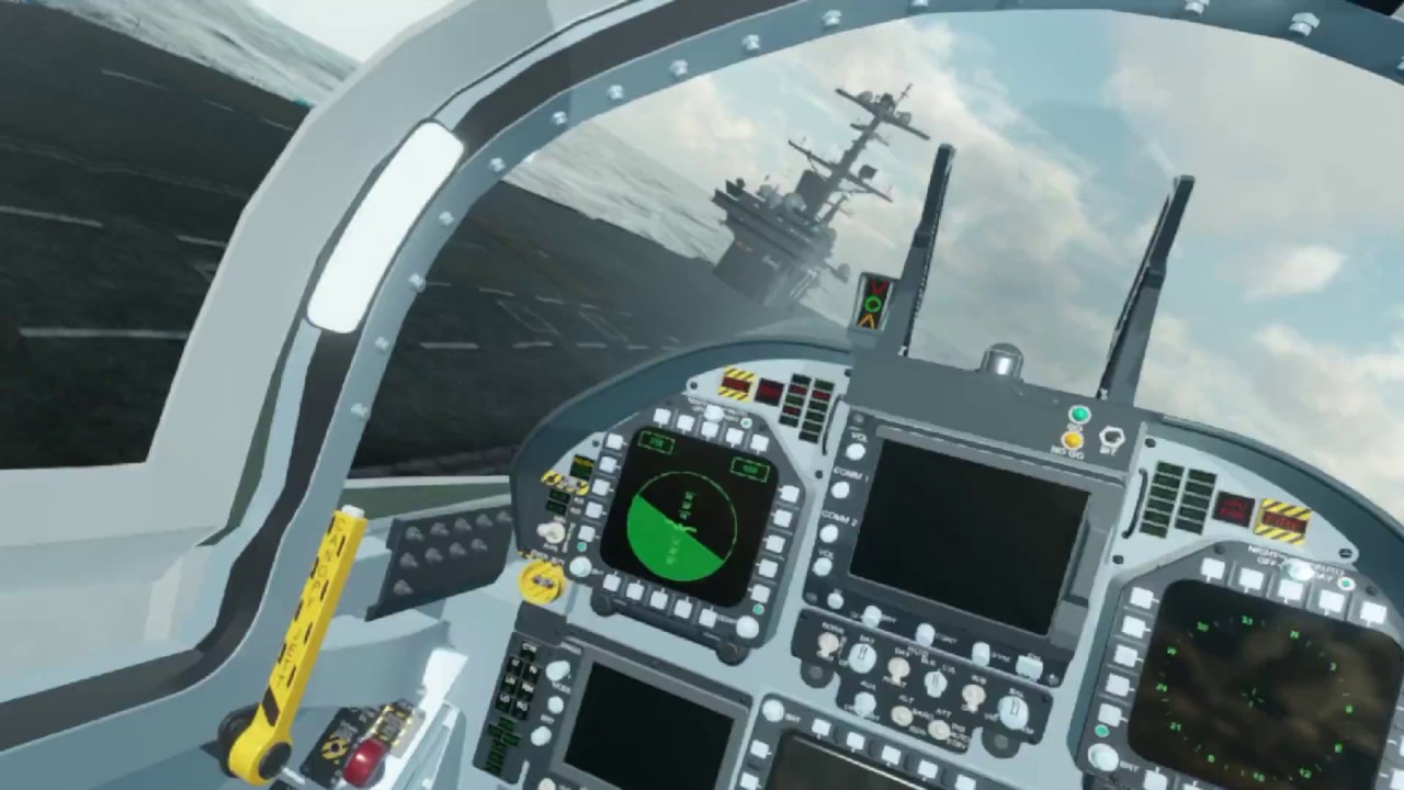 Navy Pilot Simulator - Oculus VR