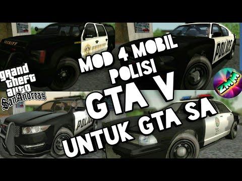 99+ Mod Mobil Polisi Gta V Gratis Terbaru