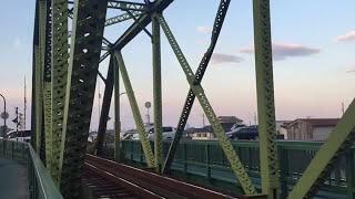JR牟岐線 那賀川鉄橋