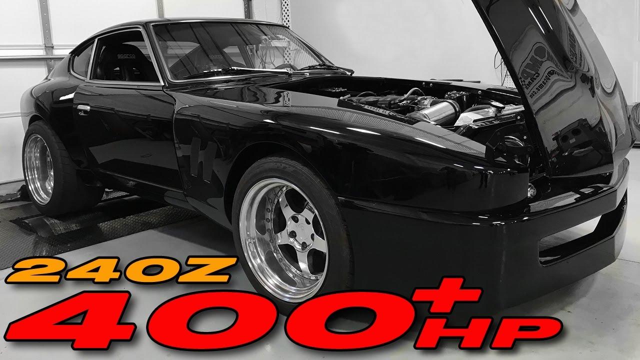 Kyle's 1971 Datsun 240z LS Swap gets TUNED! - YouTube
