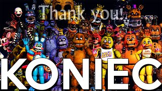 Oficjalny koniec Five Nights At Freddy