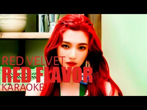 Red Velvet - Red Flavor [ Duet Karaoke / Clean Instrumental with Rap]