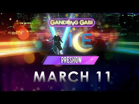 Gandang Gabi Vice Pre-Show: March 11, 2018 - #GGVBebeKo