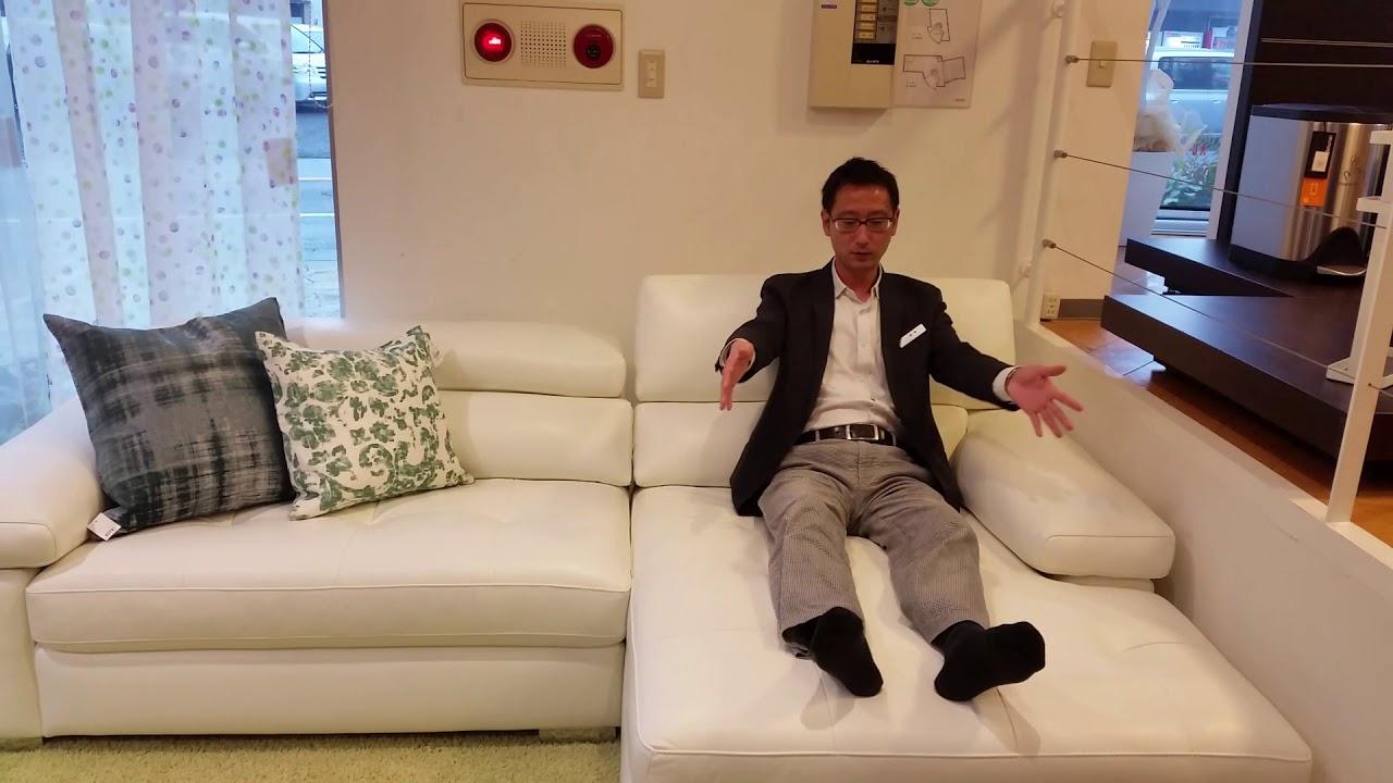 ソファーのストレートタイプとカウチタイプの違い 宮崎鹿児島の