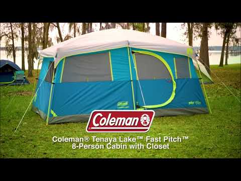 Top 6 Best Waterproof Camping Cabin Tents For Family In 2018