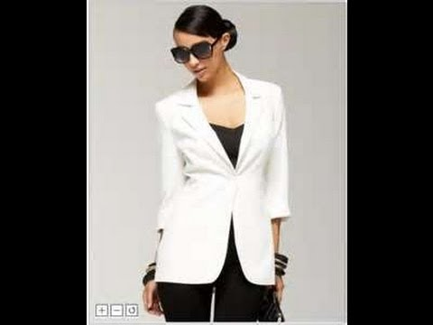 how to alter a blazer jacket & make it trendy - YouTube