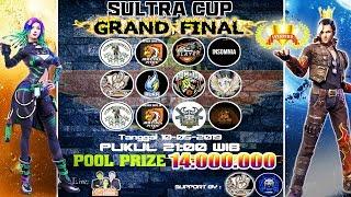 GRAND FINAL TOURNAMENT SULTRA CUP TOTAL HADIAH 14 JUTA !! # GIVE AWAY PULSA CEK DESKRIPSI