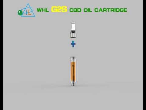 Preheating CBD oil/hemp oil/CO2 vape cartridge with glass tube 510 thread