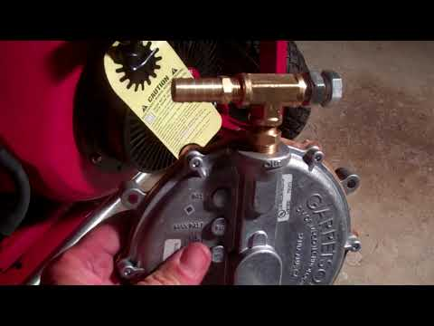 Installing US Carburetion Snorkel Tri-Fuel Generator Conversion  Kit W/ Issues Natural Gas / Propane