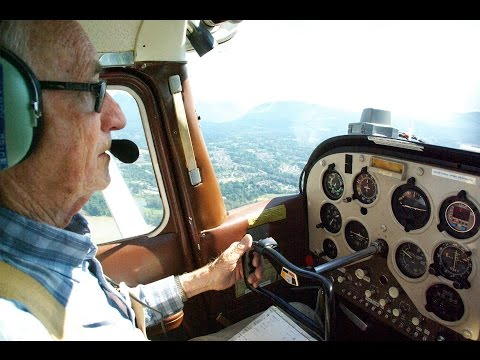 Flying To 5 Airports With A 90-Year Old Pilot