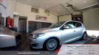 Reprogrammation moteur Renault Megane III 1.5 DCI 110 @ 130 PS - ADP Performance