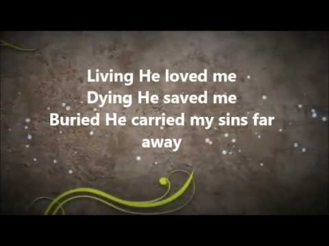 Donnie McClurkin- Lived and he loved me/Send It On Down