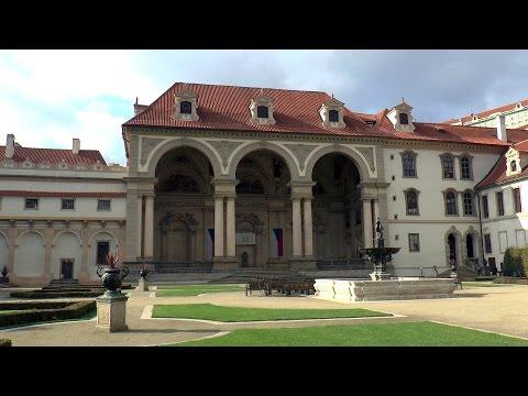 Wallenstein Palace gardens. Prague, Czech Republic. Watch in HD.