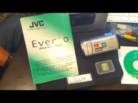 jvc everio gz-hm30bu software