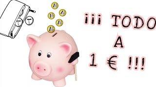 BUENO, BONITO Y BARATO | ¡¡¡TODO A 1 EURO!!! | beelisweet