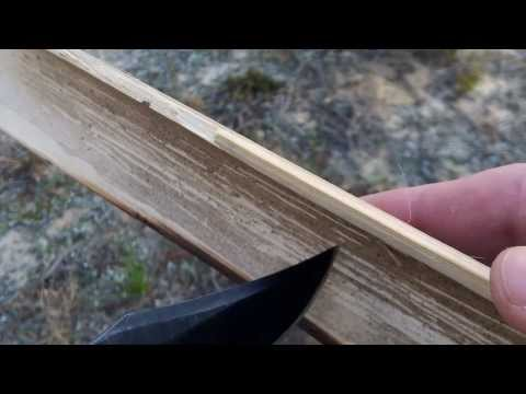 Bamboo Fire Saw Tutorial: Primitive Friction Fire