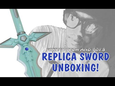 Kirito's Dark Repulser Sword unboxing from Sword Art Online