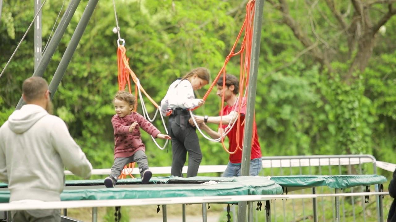 trampoline,élastique,animation,benji