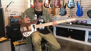 Guitar Czar Rickenbacker 4003/5 5 String Walnut Bass