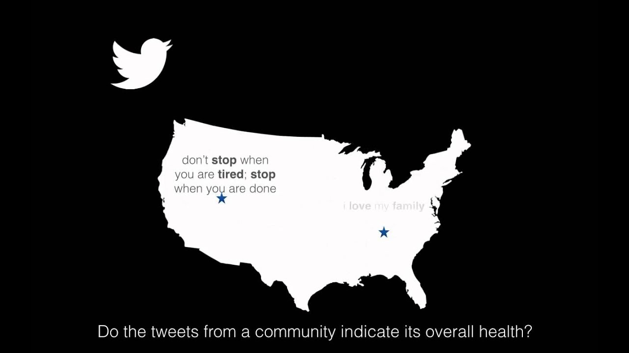 Estimating county health statistics with twitter
