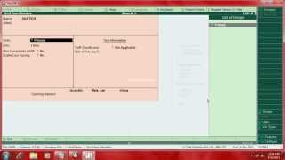 This video clip describe how to maintain manufacturing account called bill of material bom in tally.erp9. note :if any videos on unable here the v...