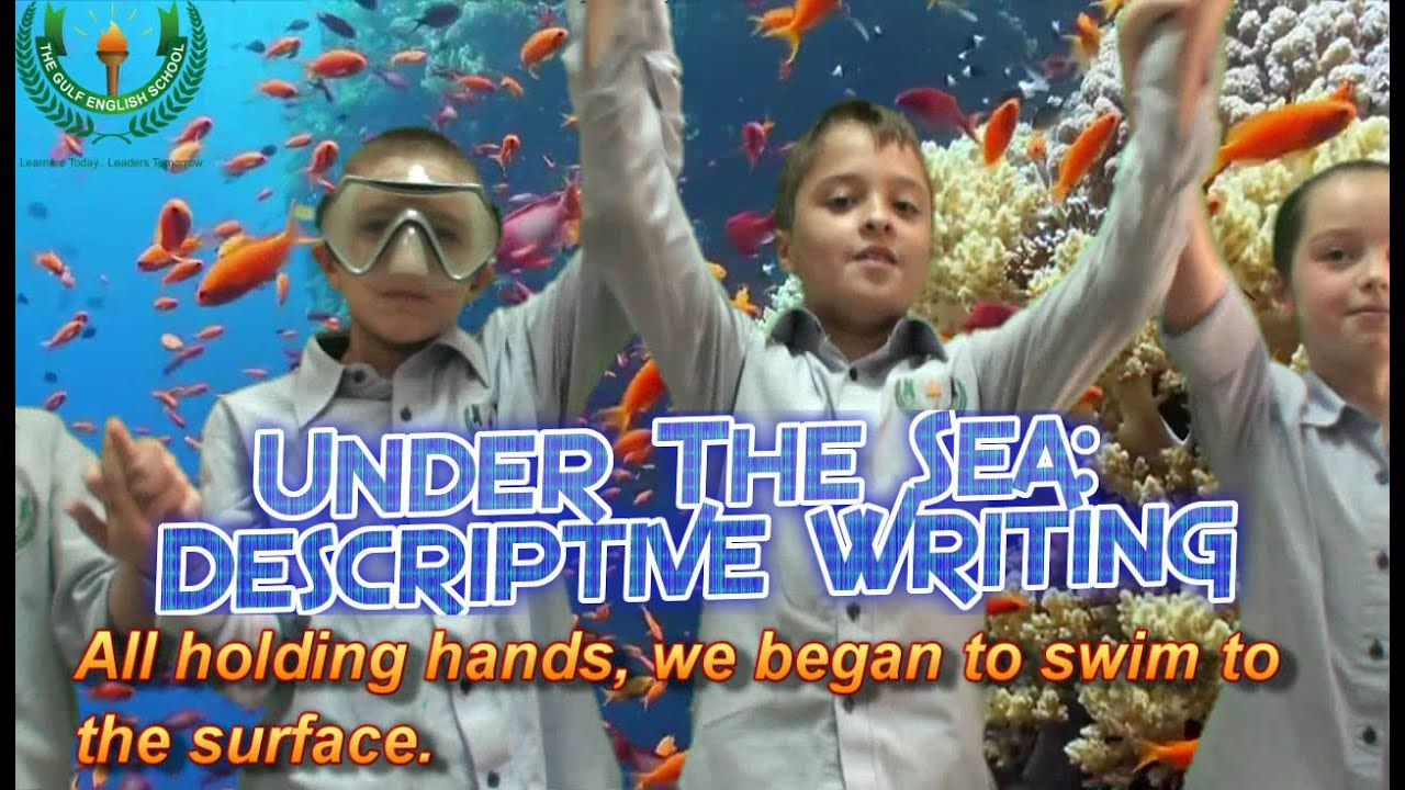 underwater descriptive writing