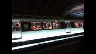 Washington Metro trains at L