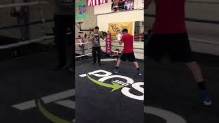 Leo Santa Cruz Talks Fights at 126. Going up to fight Tank Davis.