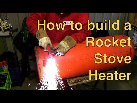 Rocket Stove Heater Build