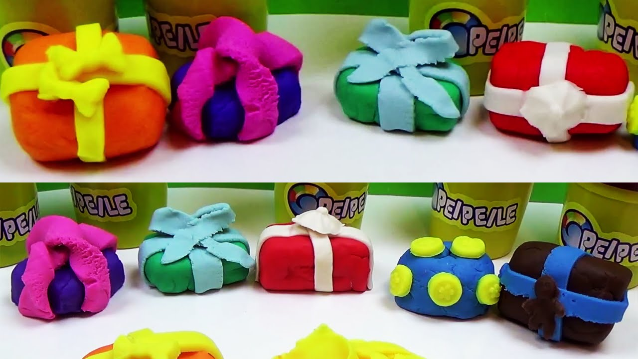 how to make play doh christmas gifts toys presents for kids surprise youtube - Presents For Kids