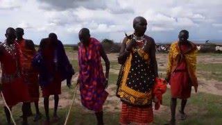 ケニヤのマサイ族.