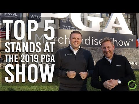 TOP 5 STANDS AT THE 2019 PGA SHOW