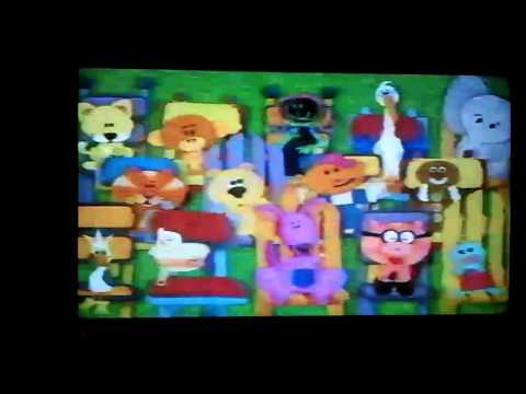 Closing To Blue's Clue's Blue's Big Musical Movie 2000 VHS