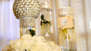 Diy   Dollar Tree Wedding Bling Centerpieces