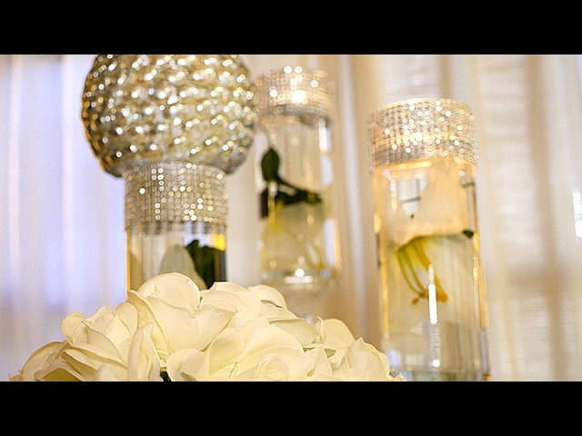 Diy Dollar Tree Wedding Bling Centerpieces Wedding Daily News