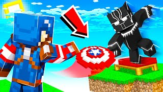Playing BEDWARS As SUPERHEROES! (Minecraft)