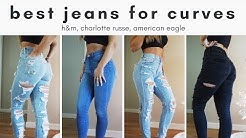 best (affordable!) jeans for athletic girls