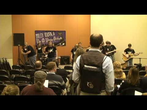 Harrison HS Rock Band at OMEA 2010 Conference Pt. 1.mov