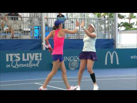 Match Highlights from Women's Doubles Semi-Finals | Brisbane International 2017
