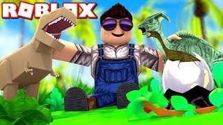 Min DINO Farm! - Roblox Dino Ranchers Ep 1 Dansk med ComKean