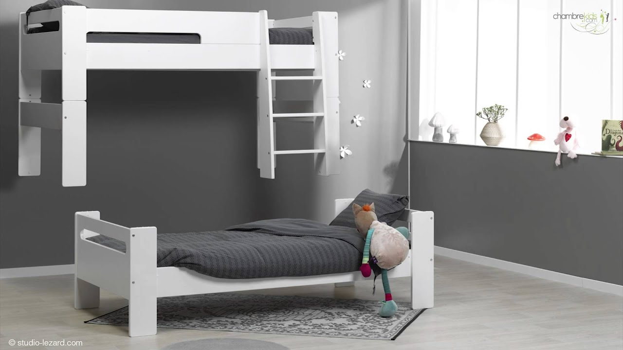 great lit superpos london with lit mezzanine modulable. Black Bedroom Furniture Sets. Home Design Ideas