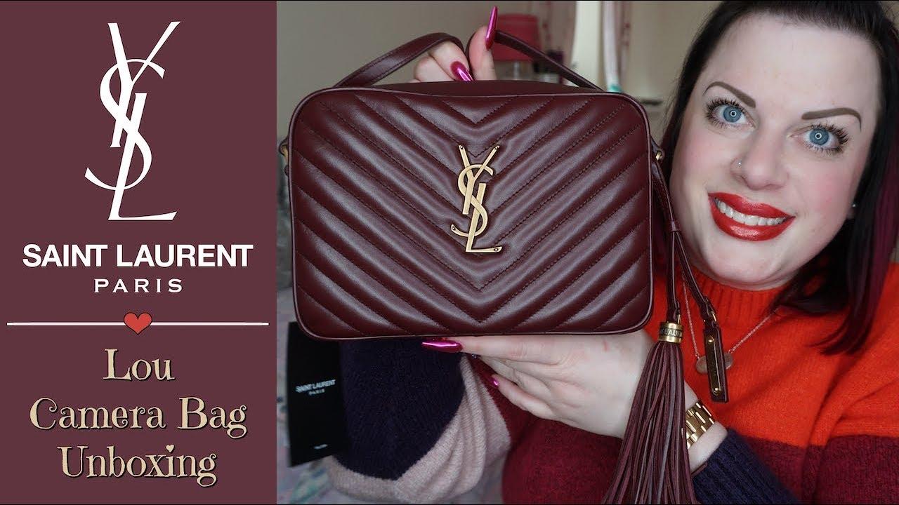 52625e53699 YSL | Saint Laurent Lou Camera Bag | Unboxing & Size Comparison ...