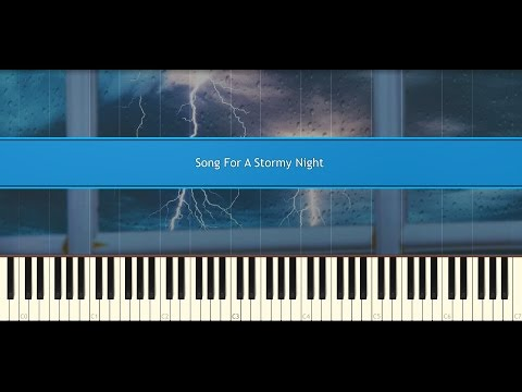 Song For A Stormy Night - Secret Garden (Piano Tutorial)